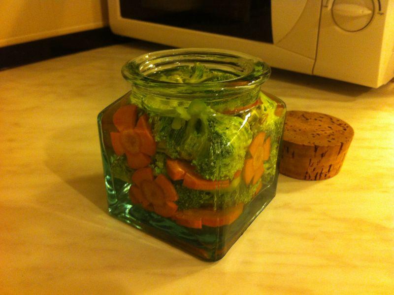 Lakto-fermentirana brokula imrkva