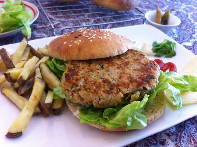 Hamburgeri s okarom