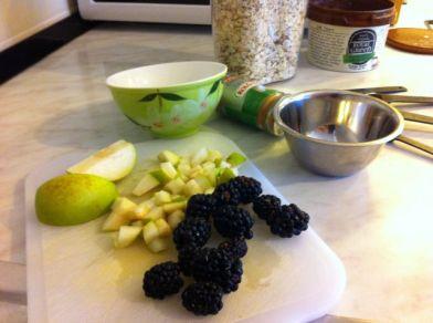 narezano voće