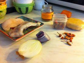 Priprema za kuhanje fiša
