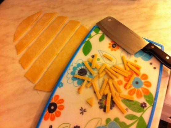 tjestenina - rezanje
