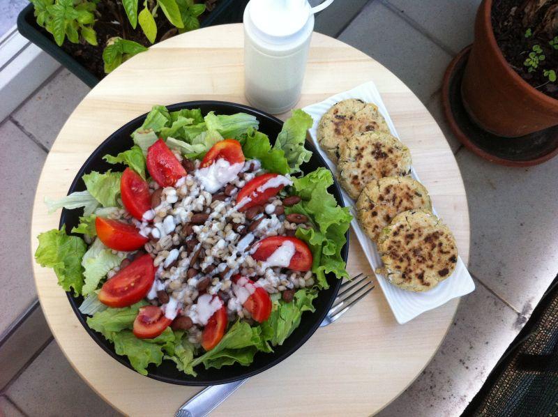 prelivena salata