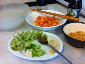 usitnjeno povrce i zacini