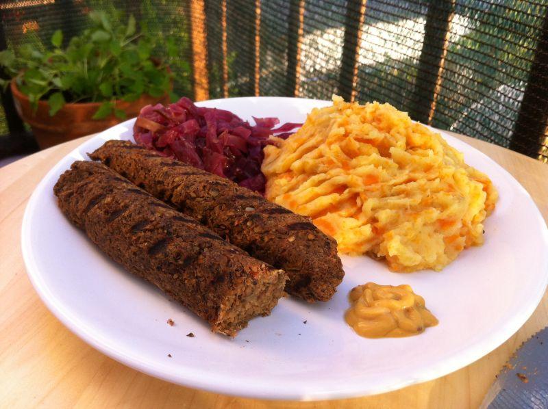 Veganske Oktoberfest kobasice