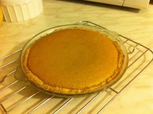 Pečena pita. Ohladiti prije posluživanja