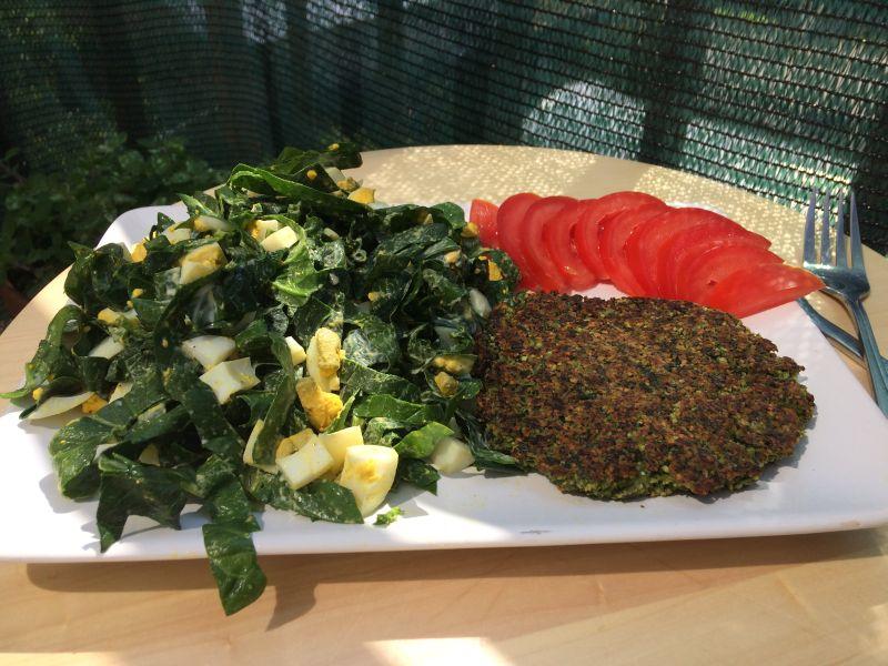 Zeleni falafel_porcija i pol