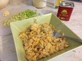 Salata od slanutka_sve spremno