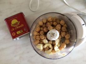 Domaći humus_priprema za miksanje