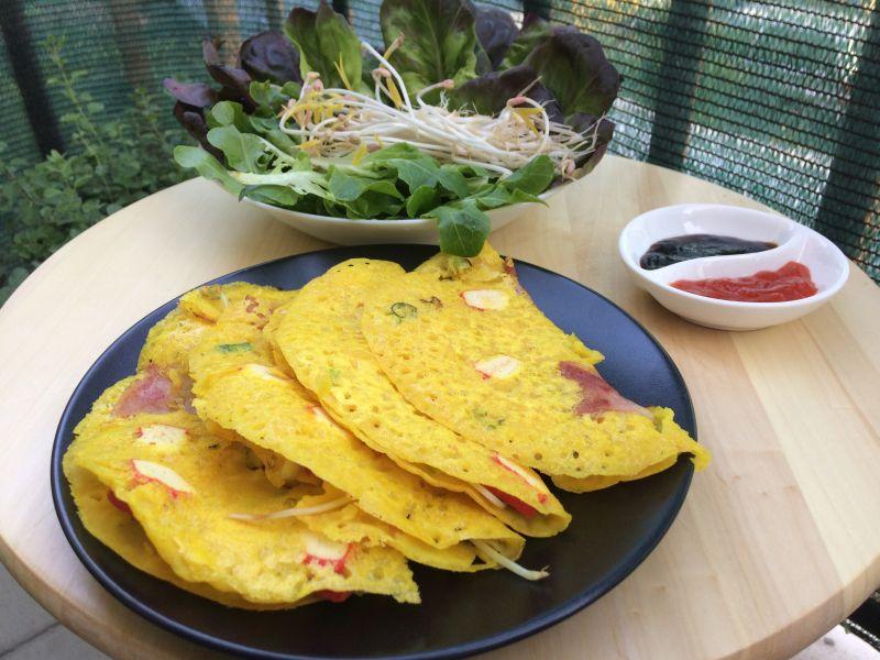 Vijetnamske palačinke_posluženo