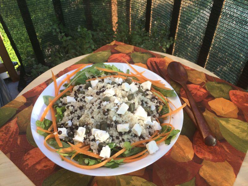 Salata od kus-kusa ileće