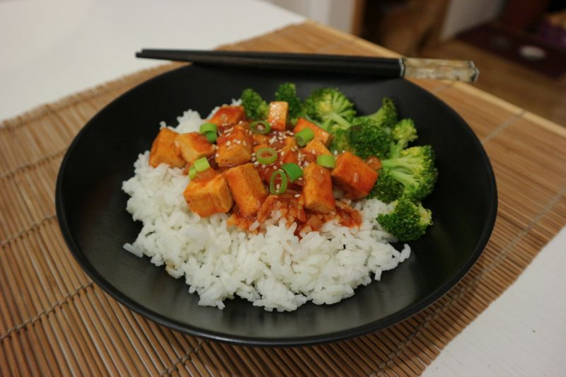 Tofu u gochujangumaku