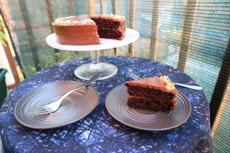 čokoladna torta s kikirikijem_sunce