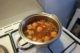 Ljekovita kimchi juha_kuhanje
