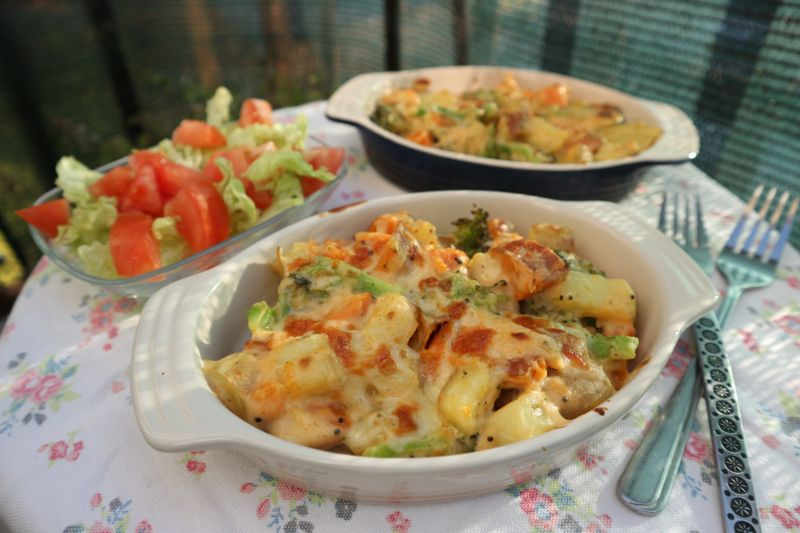 Kremasto zapečeno povrće