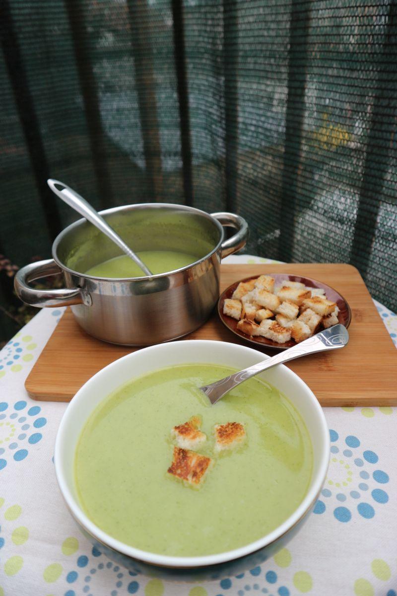 Krem juha od tikvice_posluzeno