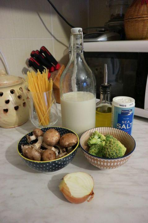 Kremasta tjestenina s gljivama_mep