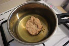 Ljuti sendvic sa sojinim odreskom_odrezak kuhani