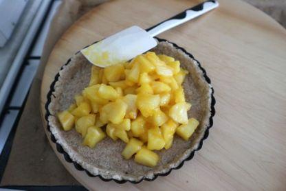 Tropska pita s jabukama_punjenje