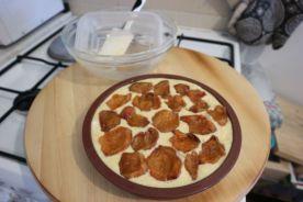 Kolac od jogurta sa marelicama_drugi sloj