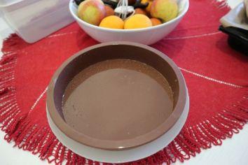 Kolac od jogurta sa marelicama_kalup