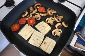 tofu gril sendvič_grilanje2