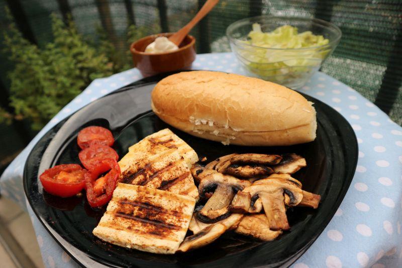 tofu gril sendvič_rešetka