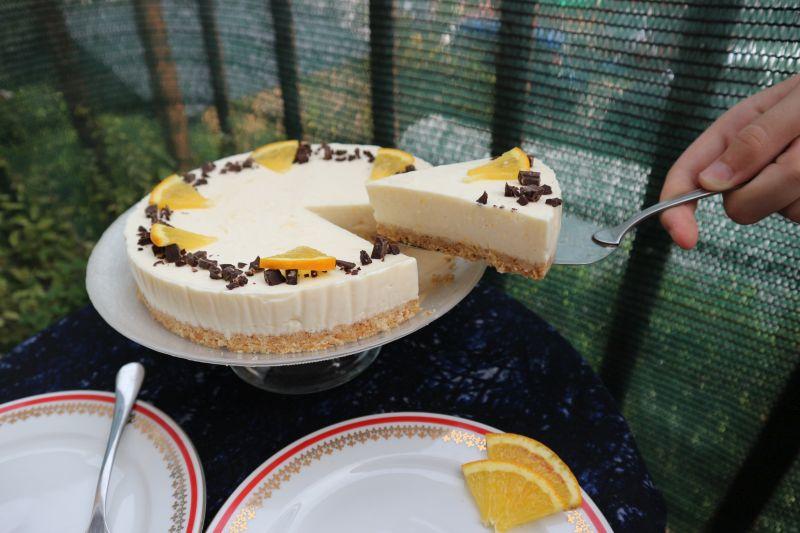 Orange cheesecake_slice1
