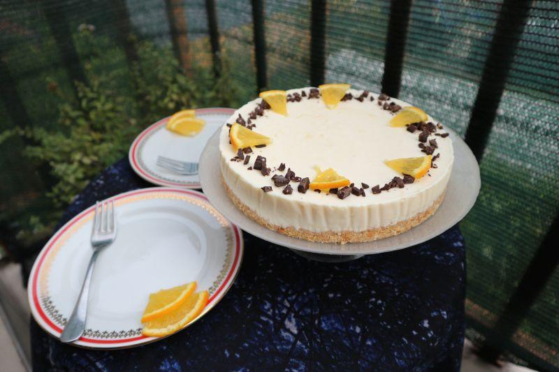 Torta od sira, snarančom