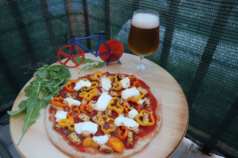 Vege pizza_posluzeno