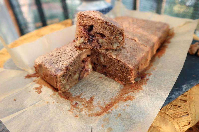 walnut brownie_cut side