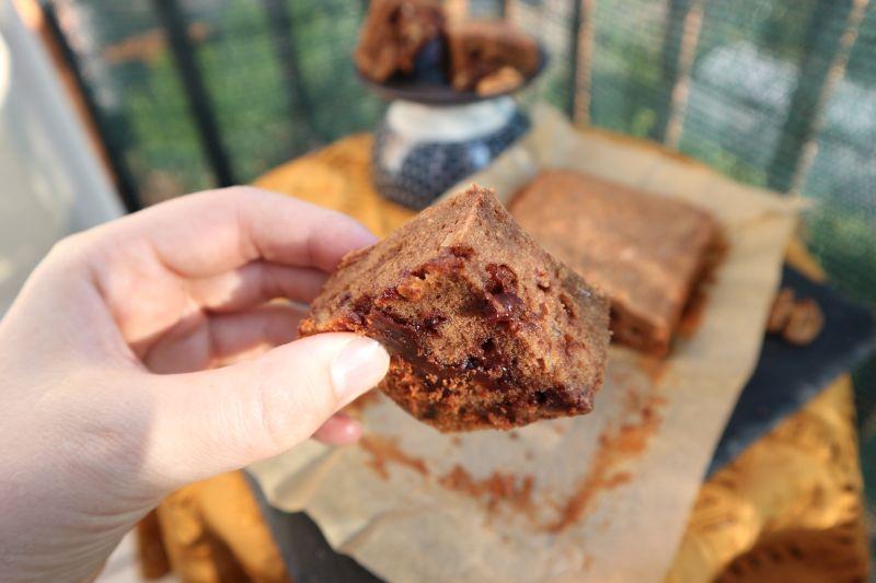 walnut brownie_gooey
