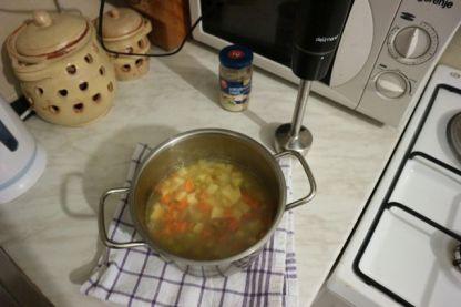 Krem juha od krumpira s hrenom_kuhano