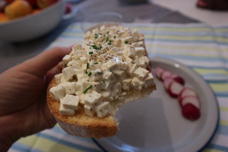 Lazna salata od jaja_zalogaj