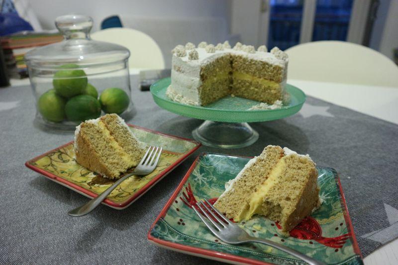 Torta matcha_posluzeno