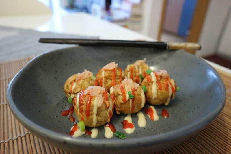 Takoyaki s kobasicom