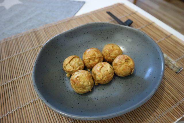 Takoyaki s kobasicom_pečene2