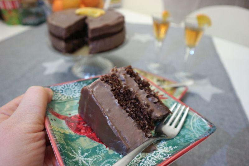 Puding torta s čokoladom inarančom