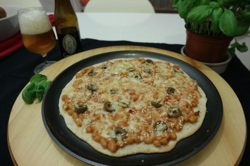 Pizza sa zapečenimgrahom