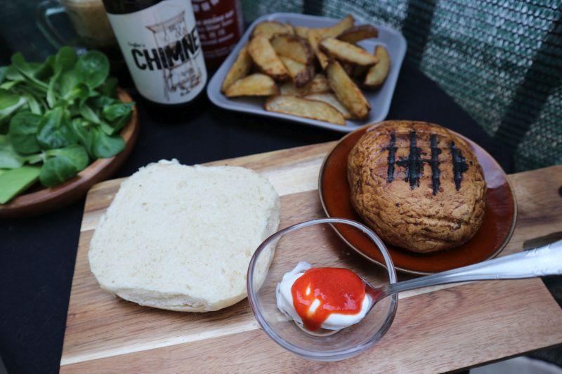 portobello burger_posluženo