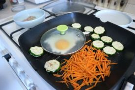 vafli od quinoe_jaje