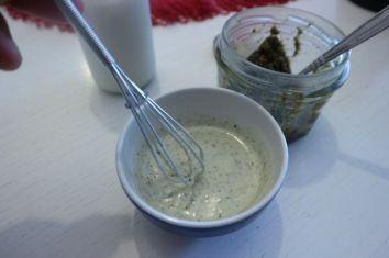 vafli od quinoe_pesto jogurt