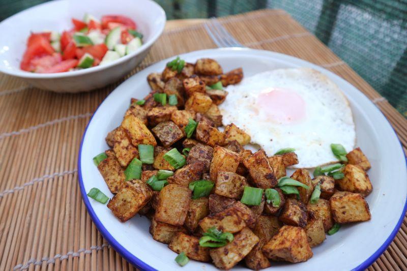 Krumpiri iz friteze na vrući zrak (airfryer)
