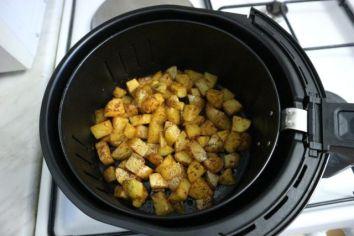 Krumpiri iz air fry friteze_prije